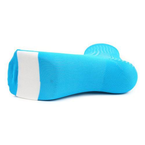 ジロ(giRo) HRC TEAM 男女兼用 サイクリング アクセサリー 自転車ソックス 靴下 35-4017059205 BLUE JEWEL/WHITE(Men's、Lady's)