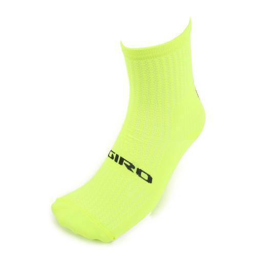 ジロ(giRo) HRC TEAM 男女兼用 サイクリング アクセサリー 自転車ソックス 靴下 35-4017059209 H.YELLOW/BLK(Men's、Lady's)