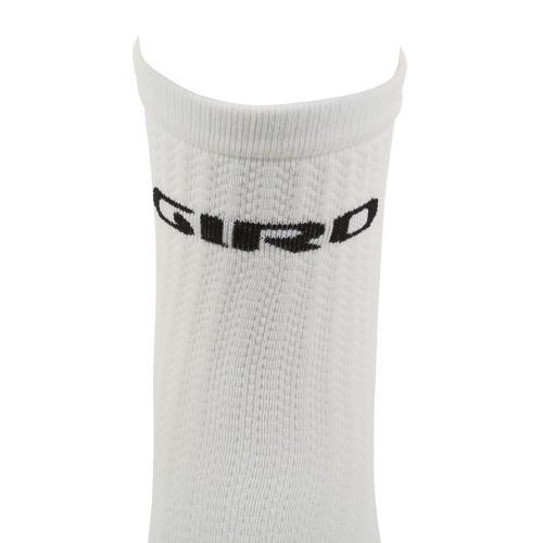 ジロ(giRo) HRC TEAM 男女兼用 サイクリング アクセサリー 自転車ソックス 靴下 35-4017059213 WHITE/BLACK(Men's、Lady's)