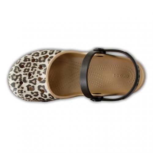 クロックス(crocs) クロックス カリン グラフィック クロッグ ウィメン Women's Crocs Karin Graphic Clog サンダル 204235 90L Leopard(Lady's)