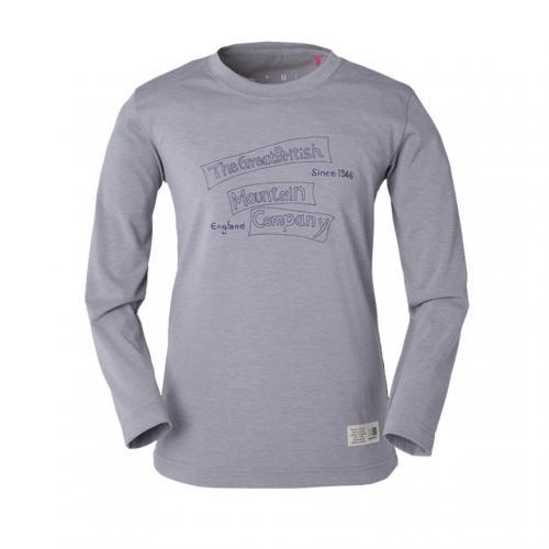 カリマー(karrimor) TGMC ウィメンズ L/S T TGMC W's L/S T 21412W161-Grey 長袖Tシャツ(Lady's)