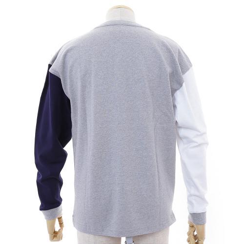 ゴースローキャラバン(GOSLOWCARAVAN) ヘビーテンジククレイジーロンTEE 352612 MGRY ロングTシャツ(Men's)
