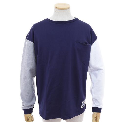 ゴースローキャラバン(GOSLOWCARAVAN) ヘビーテンジククレイジーロンTEE 352612 NVY ロングTシャツ(Men's)