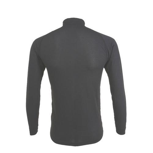 モンベル(mont-bell) ジオラインR L.W ハイネックシャツ Men's 1107488 BK メンズ サイクルシャツ(Men's)
