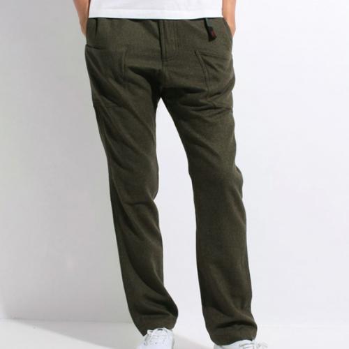 グラミチ(GRAMICCI) GRAMICCI×GRIP SWANY WOOL GARDEN PANTS メンズ ロングパンツ GUP-16F130-ARMY(Men's)