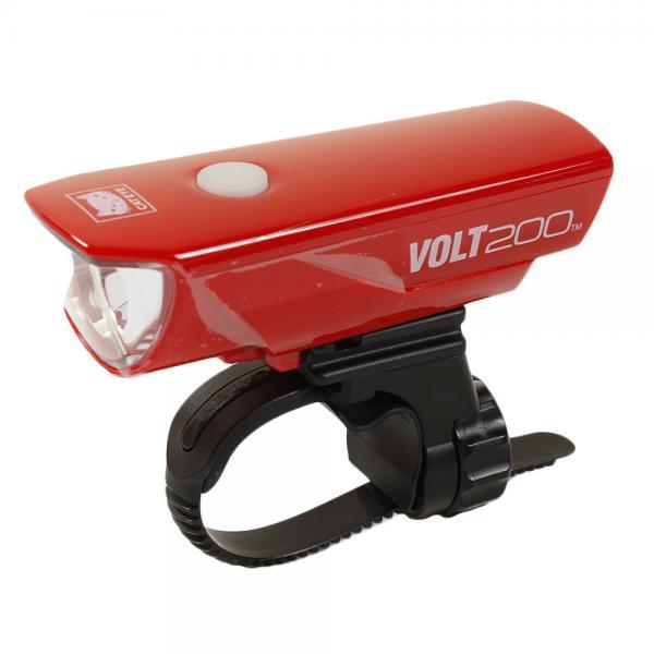 LEDヘッドライト サイクルライト VOLT200 HL-EL151RC 自転車 レッド サイクリング (CAT EYE) USB充電式 キャットアイ