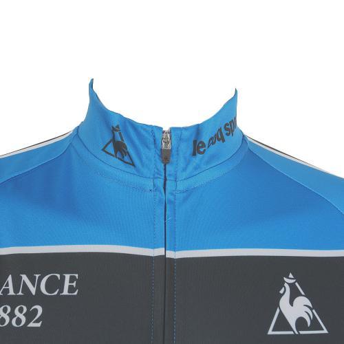 ルコック スポルティフ(Lecoq Sportif) 半袖シャツ レースジャージ QC-740961 SBL ブルー(Men's)