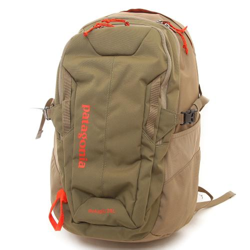 パタゴニア(patagonia) レフュジオ・パック28L Refugio Pack 28L 47911-Fatigue Green w/Ash Tan バックパック(Men's、Lady's)