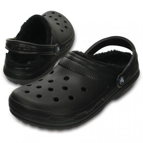 クロックス(crocs) クラシック ラインドクロッグ classic lined clog Black / Black D203591 060 サンダル(Men's、Lady's)