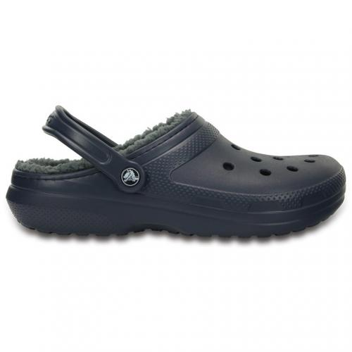 クロックス(crocs) クラシック ラインドクロッグ classic lined clog Navy / Charcoal D203591 459 サンダル(Men's、Lady's)