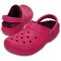 クロックス(crocs) クラシックラインドパターンクロッグ classic lined pattern clog Candy Pink/Berry D203593 6JJ サンダル(Lady's)