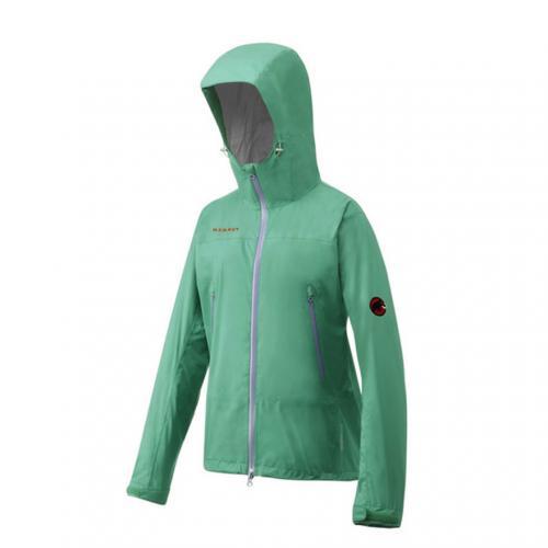 マムート(MAMMUT) ドライテックコンパクトジャケット ウィメンズ DRYtech COMPACT Jacket Womens 1010-22310 4534 emerald 防水ジャケット(Lady's)