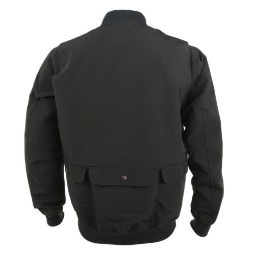 リンプロジェクト(rin project) ロクヨンフライトジャケット 2101 BLACK サイクルアウター(Men's)