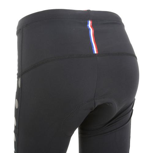 ルコック スポルティフ(Lecoq Sportif) レディステクノブレンニット3Lロングタイツ レディース 女性 ロングパンツ QC-495263 BLK ブラック(Lady's)