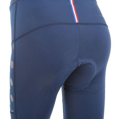 ルコック スポルティフ(Lecoq Sportif) レディステクノブレンニット3Lロングタイツ レディース 女性 ロングパンツ自転車ウエア QC-495263 NVY ネイビー(Lady's)