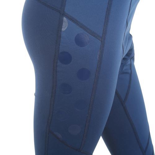 ルコック スポルティフ(Lecoq Sportif) レディステクノブレンニット3Lロングタイツ レディース 女性 ロングパンツ QC-495263 NVY ネイビー(Lady's)