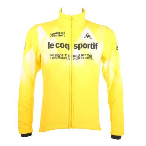 ルコック スポルティフ(Lecoq Sportif) コンビネーションアウター メンズ 男性用 ジャケット 自転車ウエア QC-580163 CRY イエロー(Men's)