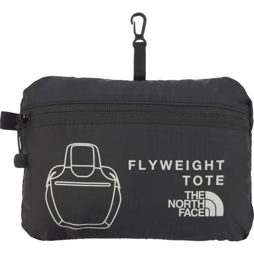 ノースフェイス(THE NORTH FACE) フライウェイトトート Flyweight Tote NM81411 K ブラック トートバッグ(Men's、Lady's)
