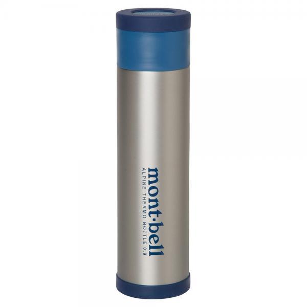 モンベル(mont-bell) アルパイン サーモボトル 0.9L 1124618 STNLS 保温 保冷ボトル(Men's、Lady's)