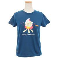 シェラデザインズ(SIERRA DESIGNS) HOTSAND TEE レディース 半袖Tシャツ 20913231-30 NVY(Lady's)