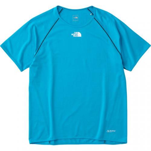 ノースフェイス(THE NORTH FACE) S/S RACING CREW メンズ ランニングTシャツ NT11773 HY ハイパーブルー(Men's)