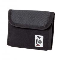 チャムス(CHUMS) トリフォルドウォレットスウェットナイロン Trifold Wallet Sweat Nylon CH60-0696-K018 Black/Charcoal 財布(Men's、Lady's)