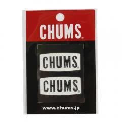 チャムス(CHUMS) ロゴ エンボス ステッカー CH62-1125-W001-00(Men's、Lady's、Jr)