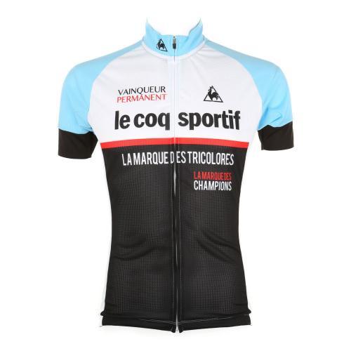 ルコック スポルティフ(Lecoq Sportif) エアリ-ク-ルメッシュジャ-ジ メンズ 男性用 半袖シャツ 自転車ウエア QC-740471 WSX(Men's)