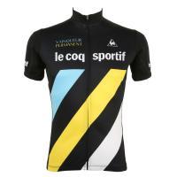 ルコック スポルティフ(Lecoq Sportif) 半袖ジャージ メンズ 男性用 自転車 ウェア QC-741371 BLK(Men's)