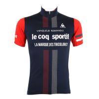 ルコック スポルティフ(Lecoq Sportif) 半袖ジャージ メンズ 男性用 自転車 ウェア QC-741671 NVY(Men's)