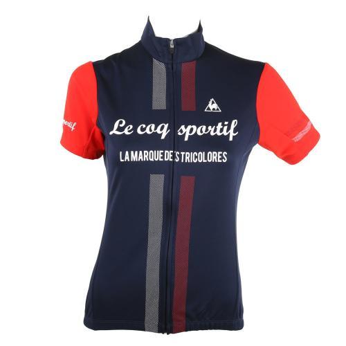 ルコック スポルティフ(Lecoq Sportif) 半袖ジャージ   ウェア QC-746471 NVY(Lady's)