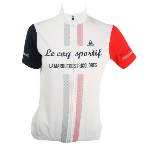 ルコック スポルティフ(Lecoq Sportif) 半袖ジャージ レディース 女性用 自転車 ウェア QC-746471 WHT(Lady's)