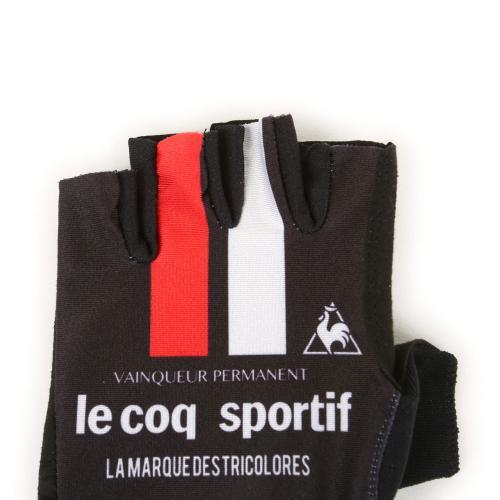 ルコック スポルティフ(Lecoq Sportif) プリントグロ-ブ メンズ レディース 男女兼用 自転車 手袋 QCA712371 BLK(Men's、Lady's)