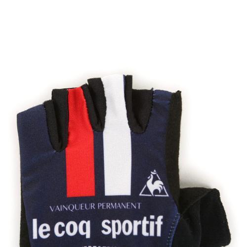 ルコック スポルティフ(Lecoq Sportif) プリントグロ-ブ メンズ レディース 男女兼用 自転車 手袋 QCA712371 NVY(Men's、Lady's)