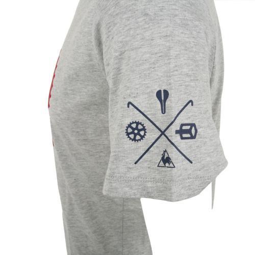 ルコック スポルティフ(Lecoq Sportif) ヴェロクラブTee 半袖シャツ メンズ 男性用 自転車 ウェア QCT-010271 MGR(Men's)