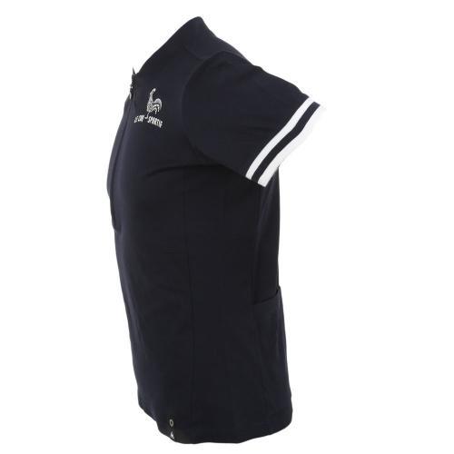 ルコック スポルティフ(Lecoq Sportif) ヴェロッジポロシャツ メンズ 男性用 自転車 ウェア QCT-710171 NVY(Men's)