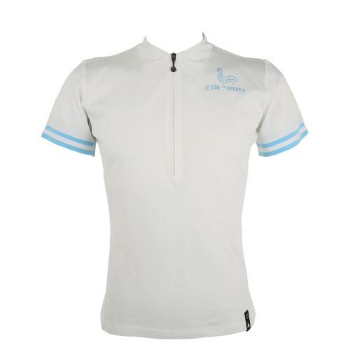 ルコック スポルティフ(Lecoq Sportif) ヴェロッジポロシャツ メンズ 男性用 自転車 ウェア QCT-710171 WHT(Men's)
