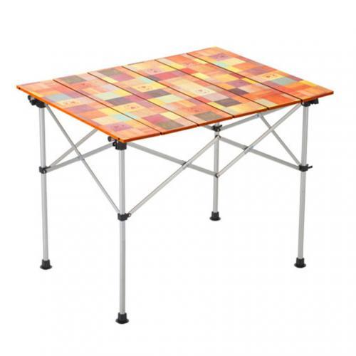 コールマン(Coleman) ナチュラルモザイク ロールテーブル 90 2000031292 キャンプ バーベキュー(Men's、Lady's)