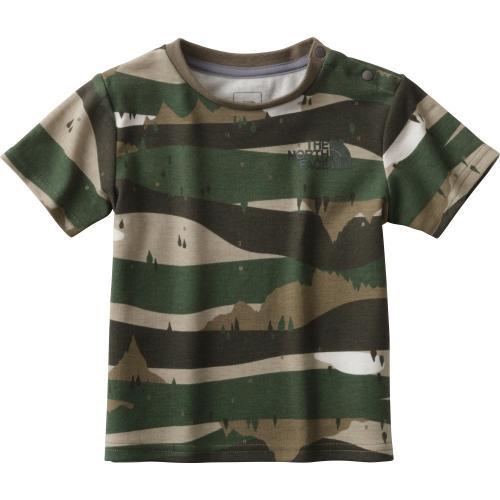 ノースフェイス(THE NORTH FACE) ショートスリーブスムースコットンティー  キッズ S/S Smooth Cotton Tee NTJ31711 FP 半袖Tシャツ(Jr)