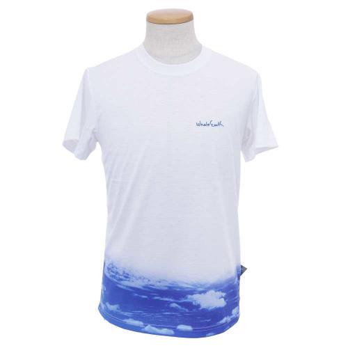 ホールアース(Whole Earth) MENS LANDSCAPE PHOTO TEE メンズ 半袖Tシャツ WES17M02-5703 LBLU(Men's)