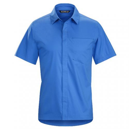 アークテリクス(ARC'TERYX) A2B SS SHIRT M メンズ 半袖シャツ L06837700-DEJA BLUE(Men's)
