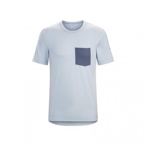 ANZO T-SHIRT M メンズ 半袖Tシャツ L06855400-VAPOUR