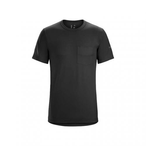 ANZO T-SHIRT M メンズ 半袖Tシャツ L06855500-BLACK