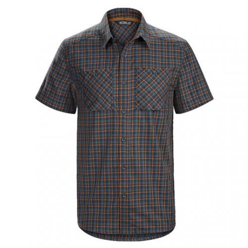 アークテリクス(ARC'TERYX) TRANZAT SS SHIRT メンズ 半袖シャツ L06860100-BELLA COOLA(Men's)