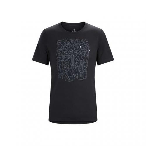BLOCK SS T-SHIRT M メンズ 半袖Tシャツ L06852900-BLACK