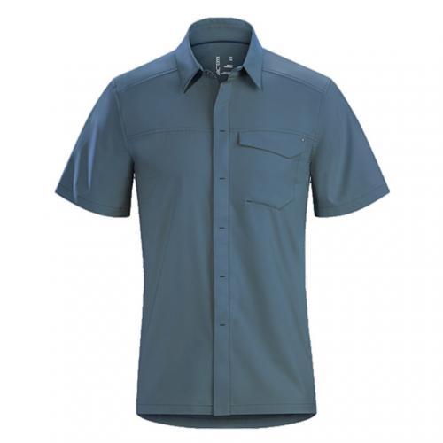 アークテリクス(ARC'TERYX) スカイラインシャツ SS メンズ Skyline SS Shirt M L06855000 Heron 半袖シャツ(Men's)