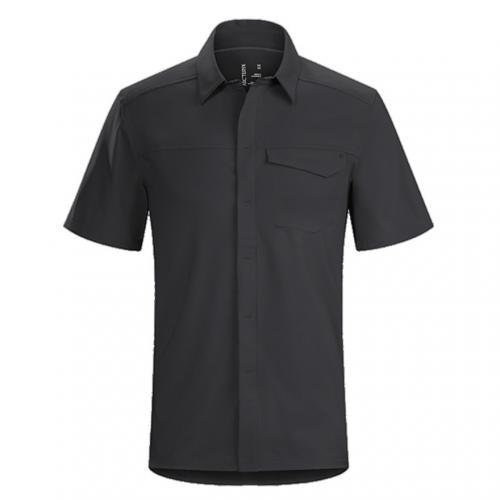 アークテリクス(ARC'TERYX) スカイラインシャツ SS メンズ Skyline SS Shirt M L06855200 Black 半袖シャツ(Men's)