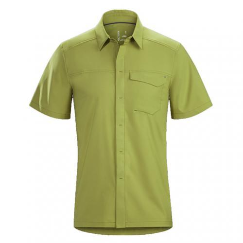 アークテリクス(ARC'TERYX) スカイラインシャツ SS メンズ Skyline SS Shirt M L06867200 Thistle 半袖シャツ(Men's)