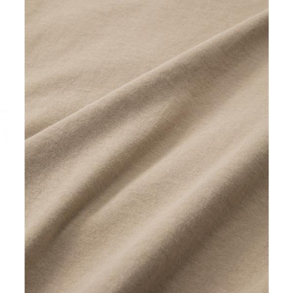 チャムス(CHUMS) キャンプメモリーズTシャツ CH11-1235 B023 Bamboo Beig(Lady's)