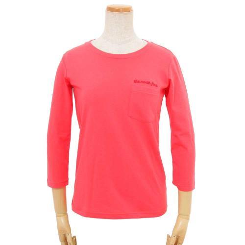 ノースフェイス(THE NORTH FACE) 別注 3/4 TNF POCKET TEE レディース 七分袖Tシャツ NTW3701X CR(Lady's)